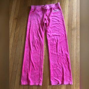 Y2K Vintage Pink Velour Juicy Sweats Sz M